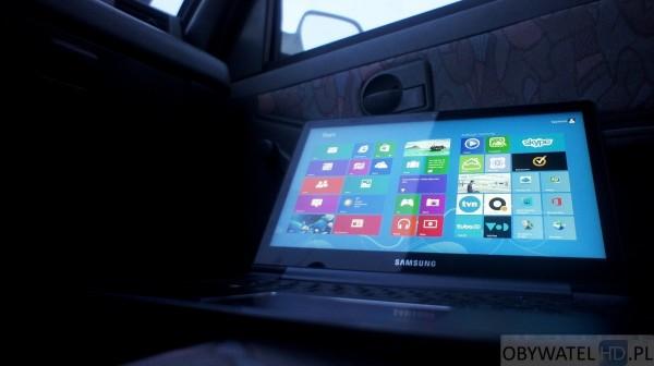 Samsung ATIV Book 9 Plus - siedzenie pasażera