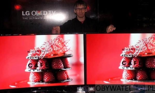 OLED LG 55EA98 telewizory i ja
