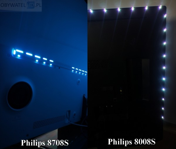 Philips Elevation - dwie wersje Ambilight