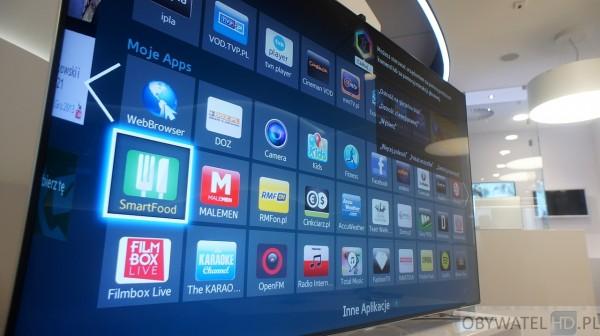 Samsung Smart TV - panel dyskusyjny - aplikacje
