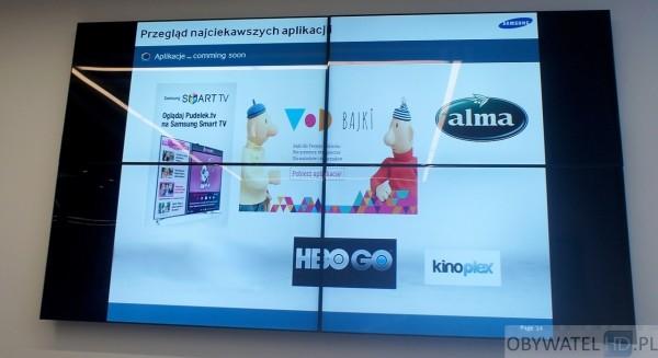 Samsung Smart TV panel dyskusyjny  - nowe aplikacje - poprawione