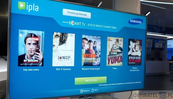 Samsung Smart TV - panel dyskusyjny - promocja z Cinema City