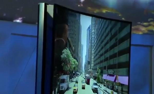 CES 2014 Zginany OLED Samsunga