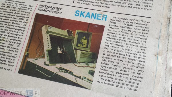 Świat Młodych 1987 Skaner