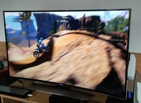 Trials Fusion na Xboxie One i UHD Samsunga Fot. Łukasz Kujawa