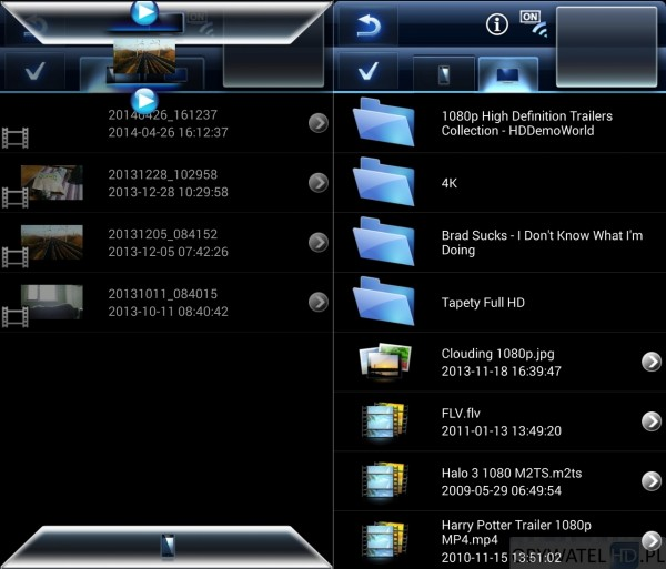 Panasonic TX-42AS600E - Remote TV app