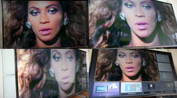 Panasonic TX-42AS600E - obraz Beyonce
