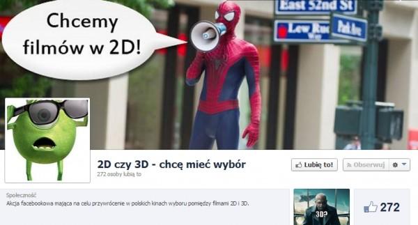 Petycja - profil na Facebooku