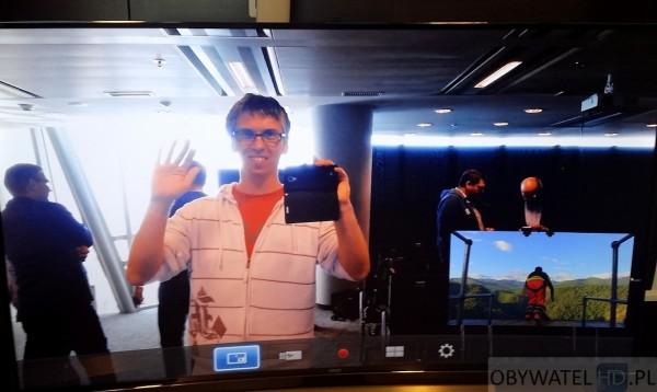 Samsung HU8500 - Skype