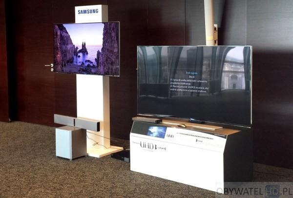 Samsung wygięte UHD - refleksy 1