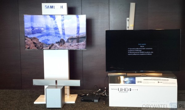 Samsung wygięte UHD - refleksy 2