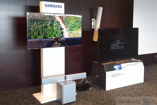 Samsung wygięte UHD - refleksy 3