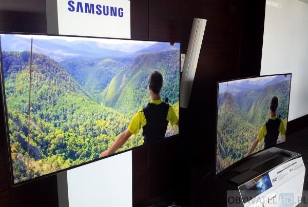 Samsung - wygięty VS płaski