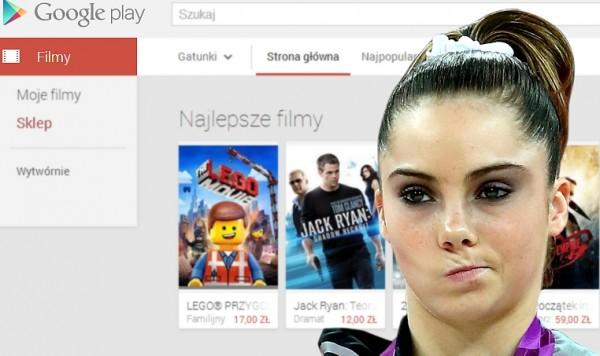 Filmy w Google play