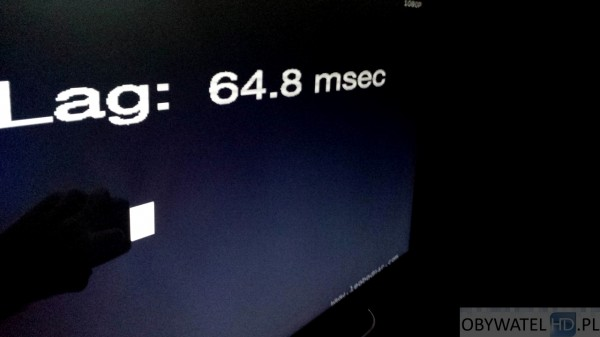 LG UB850V - Input Lag