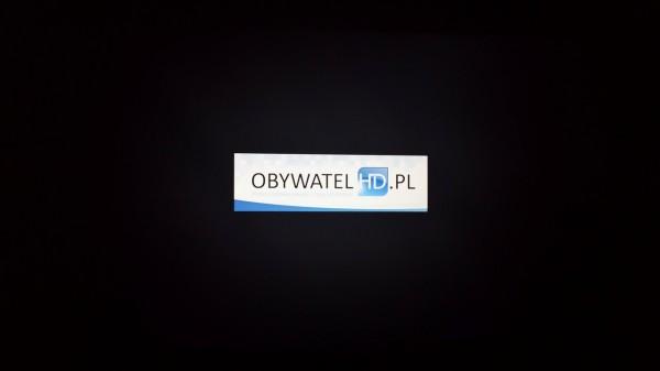 LG UB850V - podświetlanie logo Obywatela HD