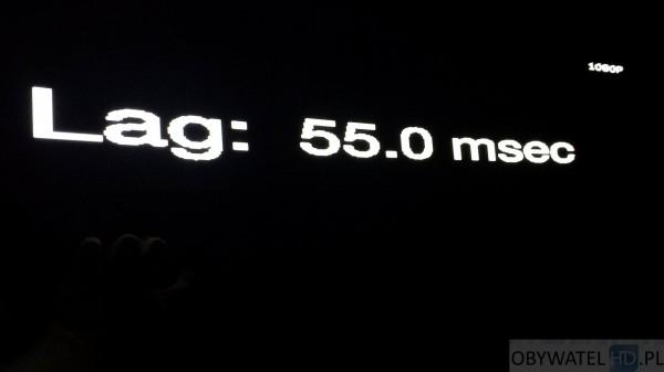 OLED LG 55EA980 - Input Lag