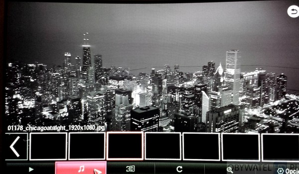 OLED LG 55EA980 - multimedia - przeglądarka zdjeć
