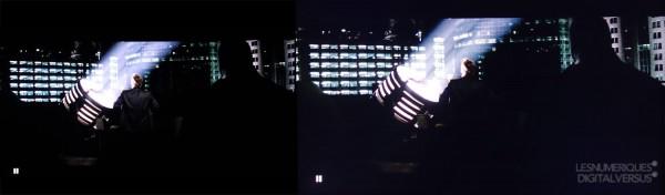 OLED VS LCD - kontrast Fot. za zgodą Digital Versus