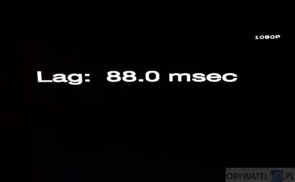 Samsung HU8500 Input Lag