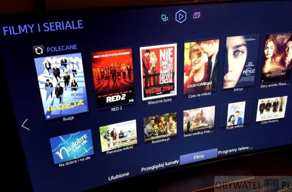 Samsung HU8500 - filmy i seriale