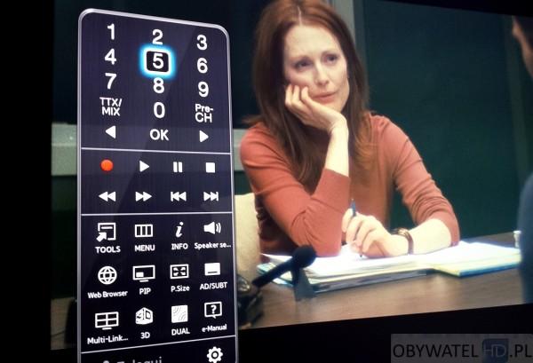 Samsung HU8500 - keypad