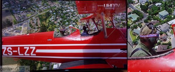 Samsung HU8500 samolot