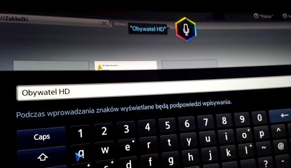 Samsung HU8500 - www komendy głosowe