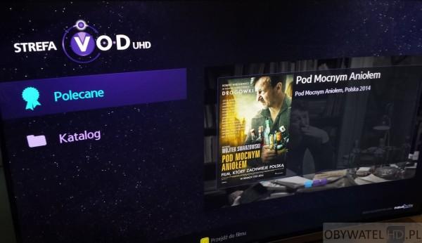 Samsung Strefa VOD UHD - zakładki