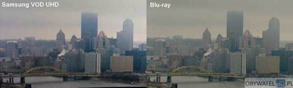 Samsung VOD UHD VS Blu-ray - Inkarnacja
