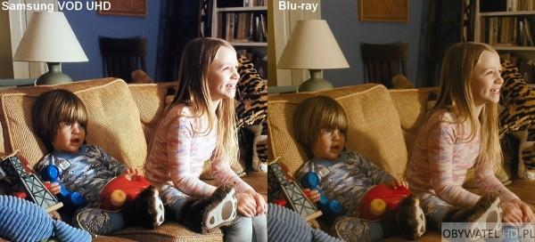 Samsung VOD UHD VS Blu-ray - Jak ona to robi