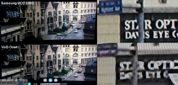 Samsung VOD UHD VS VoD Onet - Inkarnacja 2