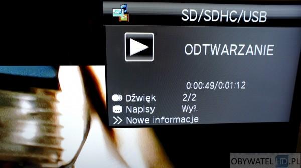 Sharp UQ10 - odtwarzanie dźwięk