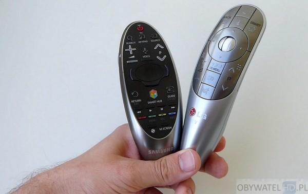 Starcie Tytanów - LG EA980 VS Samsung HU8500 - piloty