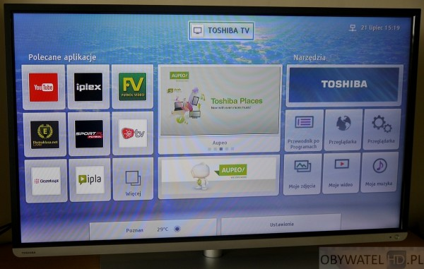 Toshiba L54 - Smart TV