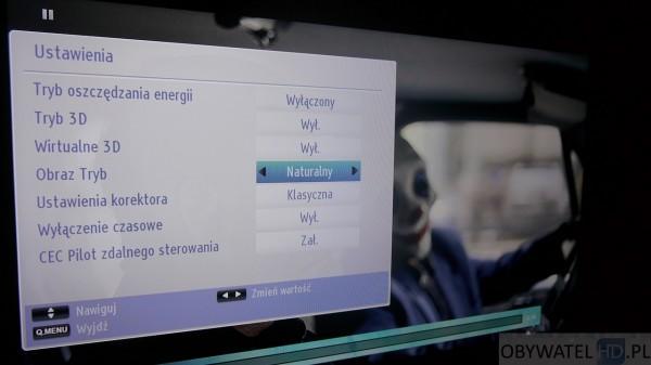 Toshiba L54 - ustawienia z Blu-ray