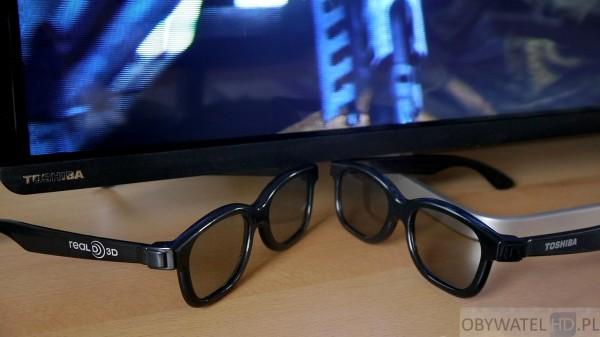 Toshiba L74 - 3D okulary