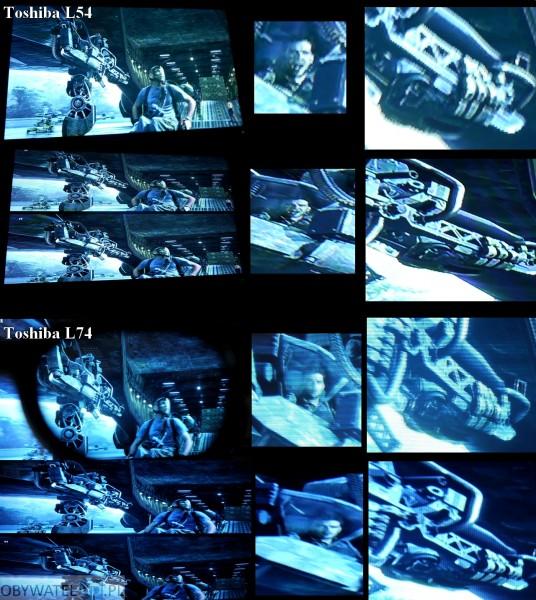Toshiba L74 - 3D vs 2D