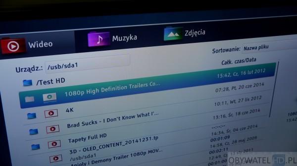 Toshiba L74 - przeglądarka multimediów