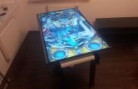 Elektroniczny stół do pinballa z ekranem 50