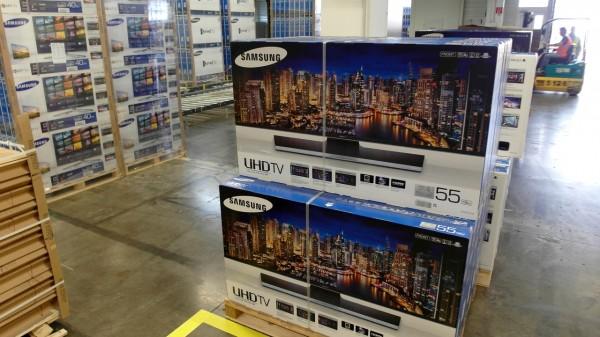 Galanta fabryka Samsunga - kartony 1