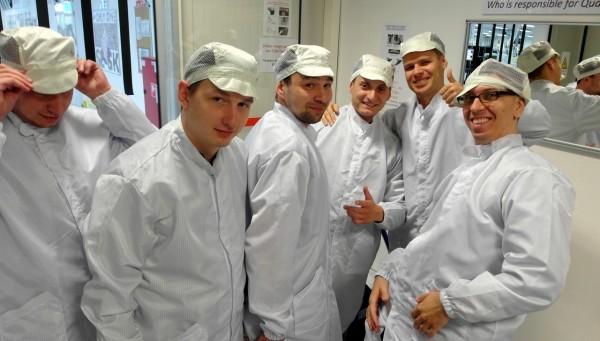 Galanta fabryka Samsunga - masarnia
