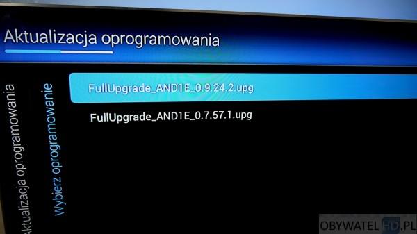Philips PFS8109 - aktualizacja oprogramowania