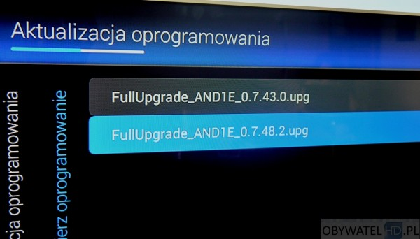 Philips PFS8109 - aktualizacja oprogramwoania