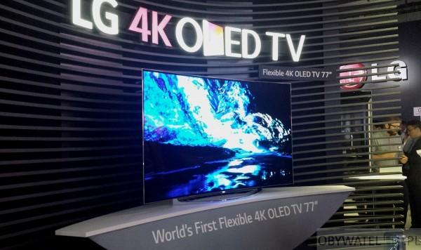 IFA 2014 - LG 77 OLED bendable
