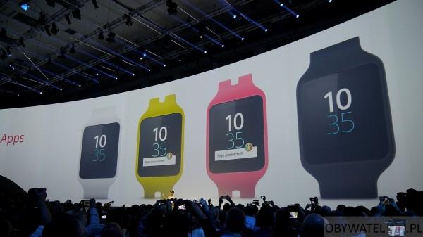 IFA 2014 - Sony SmartWatch 3 2