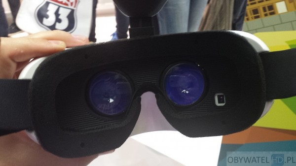 Samsung Gear VR - optyka