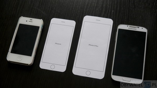 iPhone 4S, iPhone 6, iPhone 6 Plus, Samsung Galaxy S4