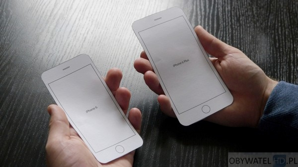 iPhone 6 i iPhone 6 Plus w rękach 1