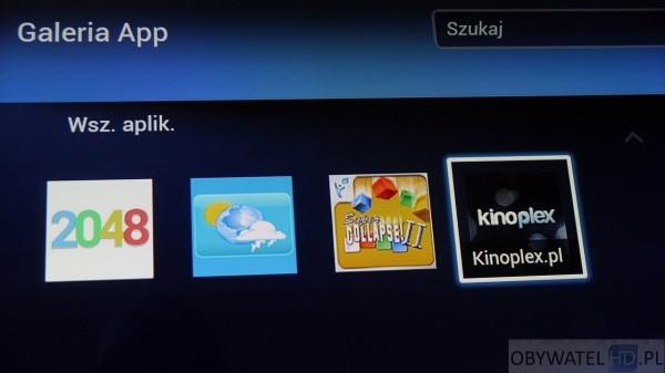 Kinoplex - aplikacja